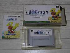 FINAL FANTASY V + SECRET OF MANA 2 NINTENDO 1992 FAMICOM JAPAN NTSC GAME RPG