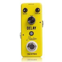 1X(Rowin Analog Vintage Delay Guitar Effect Pedal F5O9)