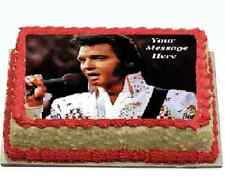 Elvis Cake topper edible digital image icing A4 REAL FONDANT