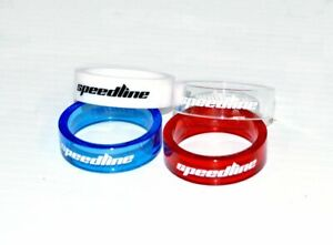 "Speedline Parts | UltraLight PolyCarbonite 1 1/8"" Headset Spacers"