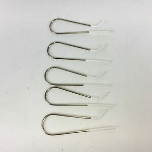 Lot of 5 Remington H21SP Tight Curls Replacement Wax Core Rollers Metal Clips