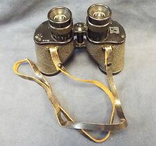 US Army WWII Era M8 Bausch & Lomb Binoculars 6 X 30 Ser No 3966 R.L.B. with Case