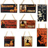 Halloween Party Decoration HAPPY HALLOWEEN Hanging Signs Window Door Decoration