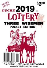 2019 Lucky Lottery Three Wisemen Pocket Edition - Lottery Book - Lottery