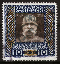 Austria 156, o, 10 KR. Franz Joseph