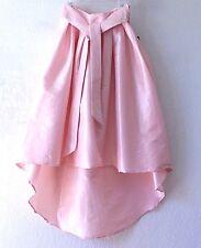NEW~Ballet Rose Pink Antique Satin Long-Tie Dress-Skirt~8/6/M/Medium