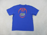 Nike Florida Gators Shirt Adult Medium Blue Orange College UF Football Mens B38