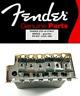 """NEW Bridge FENDER STRATOCASTER LH 2""""3/32 chrome 0071016000 guitar left-handed"""