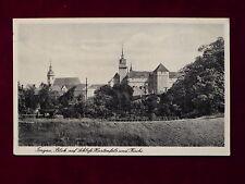 Ansichtskarte Torgau, Blick auf Schloß Hartenfels und Kirche, Echtfoto 1942