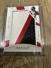 2018 PANINI IMMACULATE MICHAEL VICK 3 Color Jumbo Patch FALCONS #IL-57