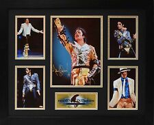 Michael Jackson Limited Edition Framed Signed Memorabilia