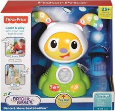 NEW Fisher Price Bright Beats Dance And Move Beat Bow Wow Green from Mr Toys