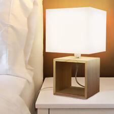 Lampada Da Comodino Da Interno In Legno Per Camera Da Letto Ebay