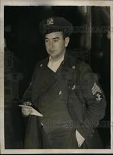 1939 Press Photo New York Officer Who Set Trap for Alleged Dope Smuggler