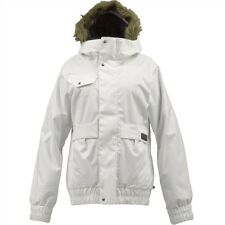 Burton Tabloid Snowboard Jacket (M) Bright White