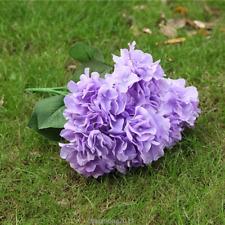 6 Köpfe Künstliche Hortensie Blume Kunstblumen Hochzeit Brautstrauß Deko Party
