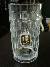 Bitburger Pils Vintage German Pilsner dimpled beer glass mug 0.3l