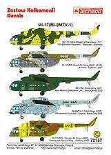 Techmod Decals 1/72 MIL Mi-17 (Mi-8MTV-1) Russian Attack Helicopter