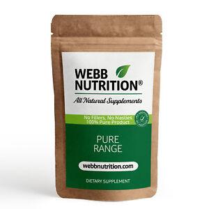 Pure Alpha Lipoic Acid 120 Capsules - Powerful Antioxidant - No Additives VEGAN