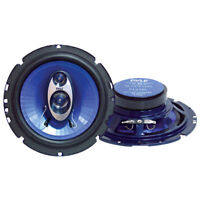 "Pyle PL63BL Blue Label 6-1/2"" Triaxial Speaker Pair"