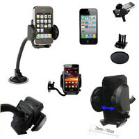 Universal 4 IN 1 Long Arm Suction Mount Air Vent Car Holder For Various Mobiles