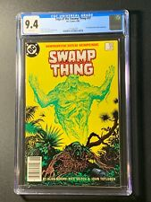 Saga of the Swamp Thing #37 CGC 9.4 (DC 1985) 1st John Constantine Newsstand