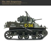 1:32 Diecast Unimax Toys Forces of Valor WWII US Army M5-A1 Stuart Tank