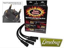 VW Aircooled Pertronix Black 8mm HT Leads Plug Wire Kit fit T1 Beetle MSD Billet