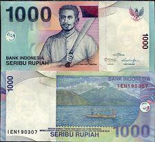 INDONESIA 1000 1,000 RUPIAH 2012 P 141 UNC