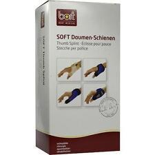 BORT Soft Daumenschiene lang medium schwarz 1 St PZN 7669835