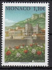 MONACO 2017 EUROPA CEPT. CASTLES.1 stamp.MNH