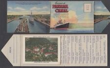 Panama Canal Small Photo Wallet 1941 (Id:666/D38474)