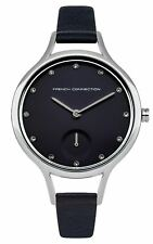 French Connection Ladies Womens Quartz Wrist Watch Black Dial FC1274U