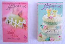 2 Love Inspired Romance Novels Any Man of Mine My So-Called Love Life Fiction