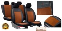 Alicante+Eco-Leather Tailored Set Seat Covers for FORD RANGER WILDTRAK 2015-2021