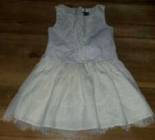 BEAUTIFUL MAX STUDIO OFF WHITE DRESS 6 6X CREAM LACE FLOWER GIRLS WEDDING OUTFIT