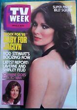 TV WEEK 1982 Jan 23~JACLYN SMITH Cover,Lorraine Bayly,Rowena Wallace,ACP - NM