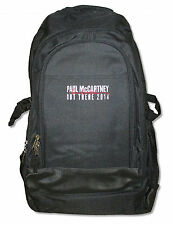 Paul McCartney Out There 2014 Tour Black Backpack Bag New Official OSFA