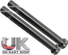 TonyKart / OTK M10 x 90mm x 2 Pair King Pin Bolt Genuine Rotax TKM Kosmic Alonso