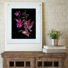 """8""""X10""""Flower Fairy HD Canvas Prints Painting Home Decor room Wall Art Picture"""