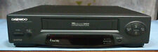 Daewoo Dv-f44sv Videoregistratore Vhs Vcr 4 Heads Cassette Tape Player