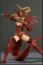 WOW WORLD OF WARCRAFT BLOOD ELF ROGUE VALEERA SANGUINAR ACTION FIGURE GIFT