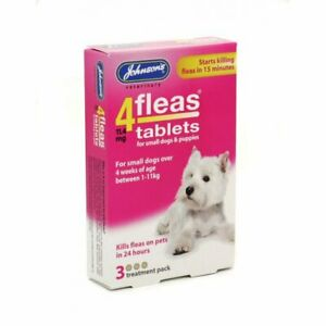 Johnsons 4fleas Tablets For Dogs - Small & Large Sizes