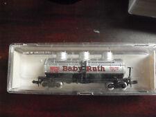 Vintage N Scale Model Power Baby Ruth Tank Car NIB 3413