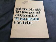 1966 Chrysler New Yorker 300 Newport Full line Color Brochure Prospekt