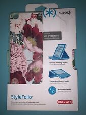 """Speck Case-iPad Mini 7.9"""" Pink and Blue Flowers Speck Case-New Open Box"""