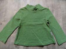 TOFF TOGS schönes Shirt grün m. Glitzerstreifen Gr. 98 w. NEU ST817