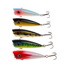 6cm//6.4g fishing lures hard baits artificial popper crankbait wobblers bait   sa