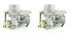 2 X Original Weber 34 tic los carbohidratos. Vw enfriado por aire de chorro para adaptarse a 15290.035 X 2