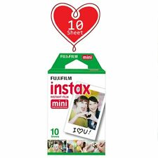 10 Sheet - Fujifilm Instax Mini White Film for Fuji Mini 9 8 90 70 Polaroid AU